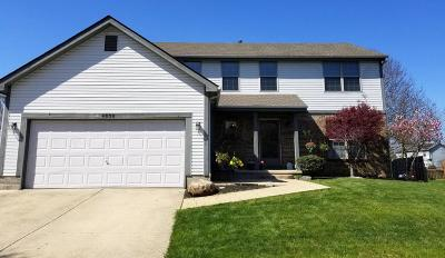 Groveport Single Family Home Contingent Finance And Inspect: 4838 Grove Pointe Drive