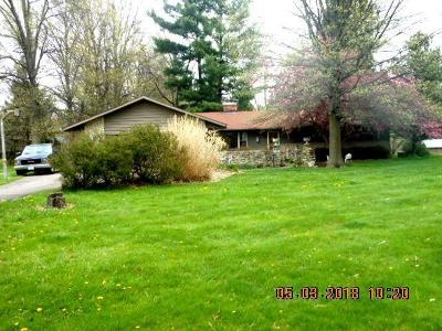 Galena Single Family Home Contingent Finance And Inspect: 7227 Big Walnut Road