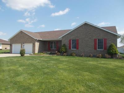 Washington Court House Single Family Home Contingent Finance And Inspect: 412 Brittim Drive