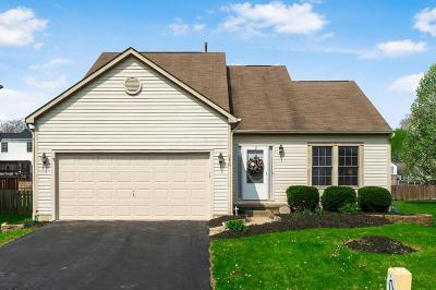 Pataskala Single Family Home Contingent Finance And Inspect: 816 Whitehead Drive