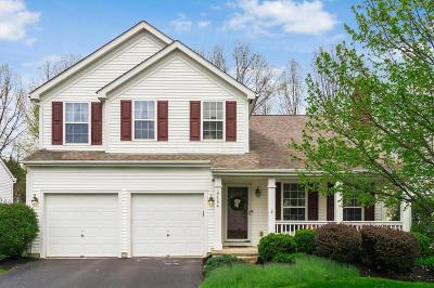 New Albany Single Family Home Contingent Finance And Inspect: 6164 Hilltop Trail Drive