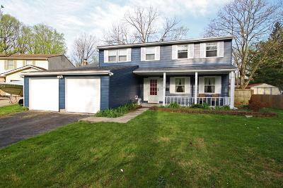 Westerville Single Family Home Contingent Finance And Inspect: 5599 Natalie Court S