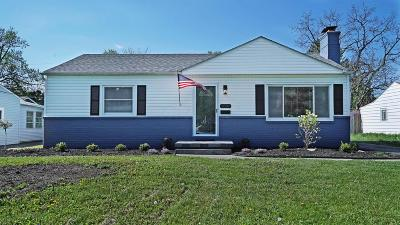 Upper Arlington Single Family Home Contingent Finance And Inspect: 2007 Kentwell Road