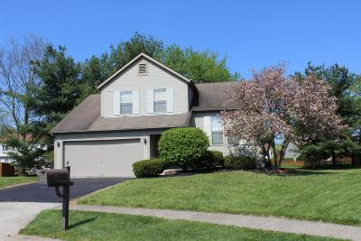 Canal Winchester Single Family Home Contingent Finance And Inspect: 6900 Woody Court