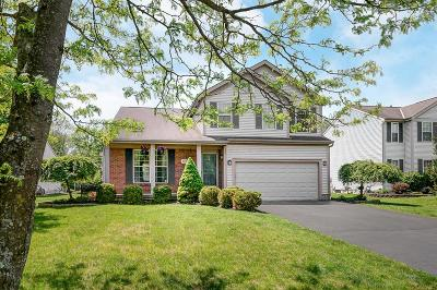 Gahanna Single Family Home Contingent Finance And Inspect: 392 Woodside Meadows Place