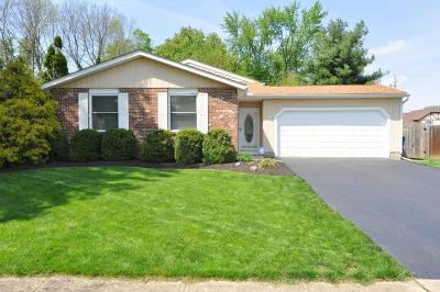 Dublin Single Family Home Contingent Finance And Inspect: 3100 Wakeshire Drive