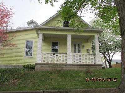 Mount Vernon OH Single Family Home For Sale: $52,000
