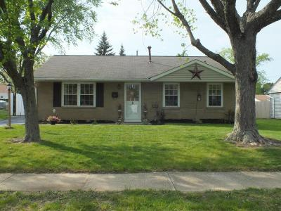 Gahanna Single Family Home Contingent Finance And Inspect: 331 Lincolnshire Road