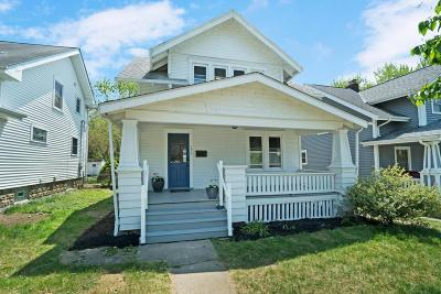 Clintonville Single Family Home Contingent Finance And Inspect: 171 E Lakeview Avenue