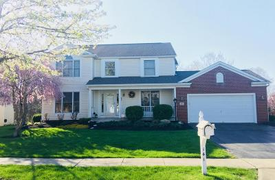 Pickerington Single Family Home Contingent Finance And Inspect: 141 Alyssa Drive