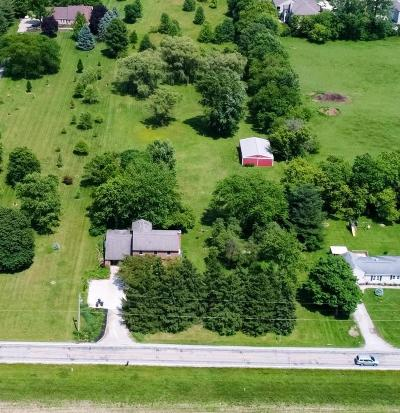Hilliard Single Family Home Contingent Finance And Inspect: 4264 Elliott Road