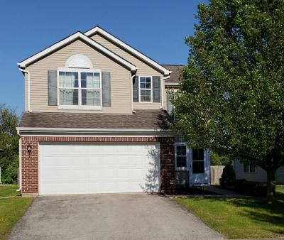 Canal Winchester Single Family Home Contingent Finance And Inspect: 4002 Bannen Trail Drive