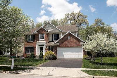 New Albany Single Family Home Contingent Finance And Inspect: 4557 Dover Commons Court