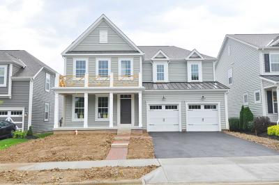Westerville Single Family Home For Sale: 1317 Spagnol Lane #Lot 21