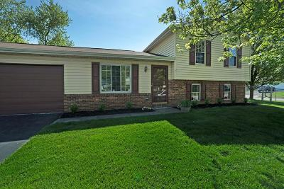 Grove City Single Family Home Contingent Finance And Inspect: 2406 Cedar Creek Drive