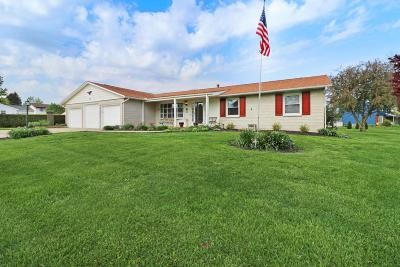 Thornville Single Family Home Contingent Finance And Inspect: 141 N Lakeview Drive