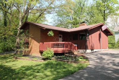 Worthington Single Family Home Contingent Finance And Inspect: 482 Park Overlook Drive