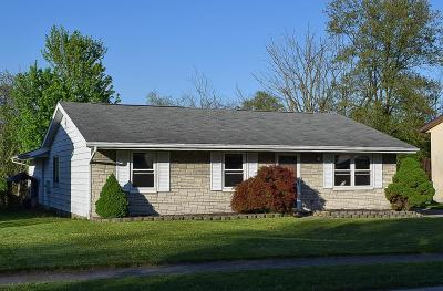 Union County Single Family Home Contingent Finance And Inspect: 568 Wagon Wheel Lane