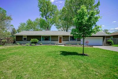 Upper Arlington Single Family Home Contingent Finance And Inspect: 3550 Colchester Road