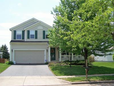 Blacklick Single Family Home Contingent Finance And Inspect: 7489 Bunker Ridge Court
