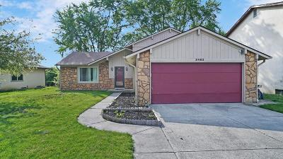 Canal Winchester Single Family Home Contingent Finance And Inspect: 3482 Countryview Drive