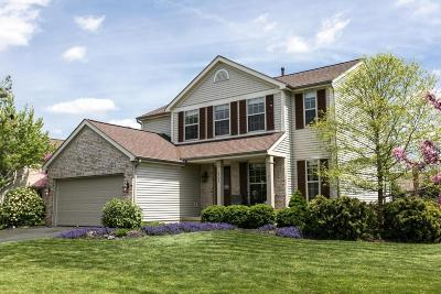 Hilliard Single Family Home Contingent Finance And Inspect: 4344 Oakbury Court