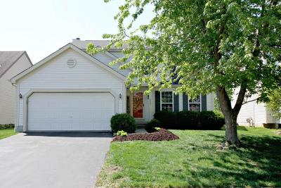 Hilliard Single Family Home Contingent Finance And Inspect: 5817 Clover Groff Drive