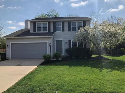 Hilliard Single Family Home Contingent Finance And Inspect: 3660 Stonecross Lane
