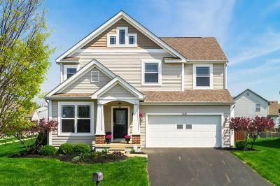 Blacklick Single Family Home Contingent Finance And Inspect: 8436 Flowering Cherry Drive