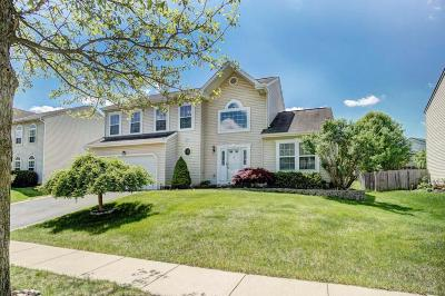 Groveport Single Family Home Contingent Finance And Inspect: 4841 Bixby Ridge Drive E