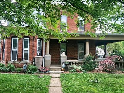 Thornville Single Family Home For Sale: 25 W Columbus Street