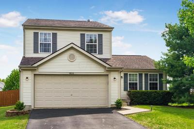 Lewis Center Single Family Home Contingent Finance And Inspect: 9053 Longstone Drive