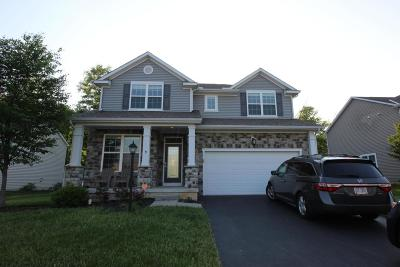 Pickerington Single Family Home Contingent Finance And Inspect: 748 Brevard Circle