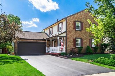 Grove City Single Family Home Contingent Finance And Inspect: 5647 Cloverleaf Court