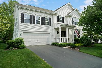 New Albany Single Family Home Contingent Finance And Inspect: 6172 Hilltop Trail Drive