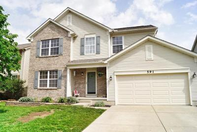 Union County Single Family Home Contingent Finance And Inspect: 591 Quail Hollow Drive S