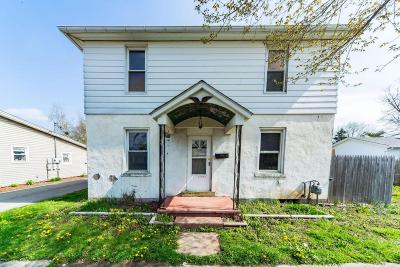 Circleville OH Single Family Home For Sale: $56,100