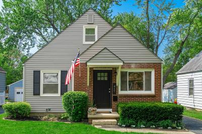 Clintonville Single Family Home Contingent Finance And Inspect: 417 E Beechwold Boulevard
