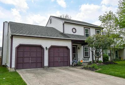 Canal Winchester Single Family Home Contingent Finance And Inspect: 6179 Bay Brook Drive