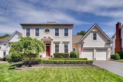 New Albany Single Family Home Contingent Finance And Inspect: 7216 Marylebury Square