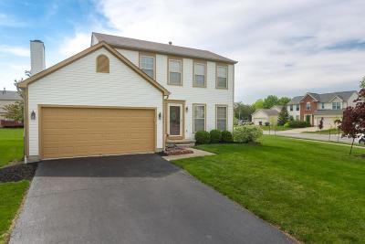 Hilliard Single Family Home Contingent Finance And Inspect: 2859 Lake Hollow Road