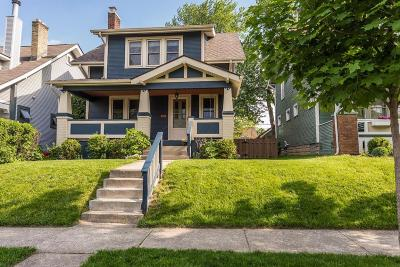 Clintonville Single Family Home Contingent Finance And Inspect: 138 E Kelso Road