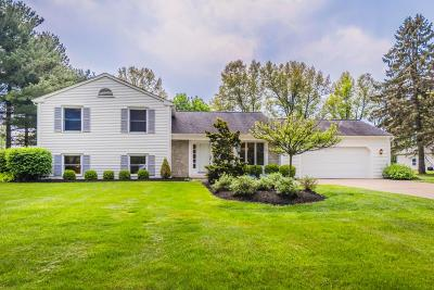 New Albany Single Family Home Contingent Finance And Inspect: 6891 Cedar Brook Place