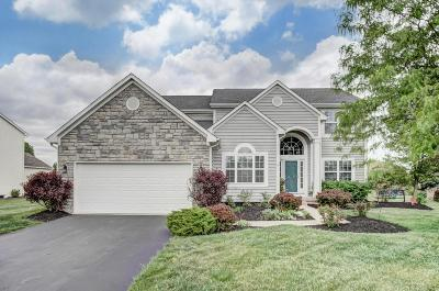 Hilliard Single Family Home Contingent Finance And Inspect: 6194 Parkmeadow Lane
