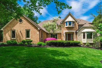 Dublin  Single Family Home Contingent Finance And Inspect: 8381 Gilmerton Court