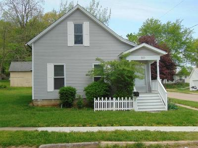 Mount Vernon OH Single Family Home For Sale: $88,500