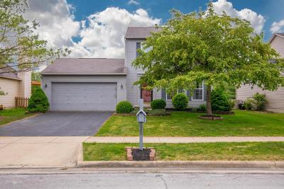 Hilliard Single Family Home Contingent Finance And Inspect: 2855 Quailview Lane