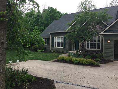 Stoutsville Single Family Home For Sale: 9600 Cordle Lane