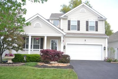 Blacklick Single Family Home Contingent Finance And Inspect: 8048 Waggoner Trace Drive