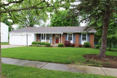 Westerville Single Family Home For Sale: 288 Oak Hill Drive